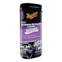 MEGUIAR'S QUICK DETAILOR INTERIOR  WIPES - Autohub Pakistan
