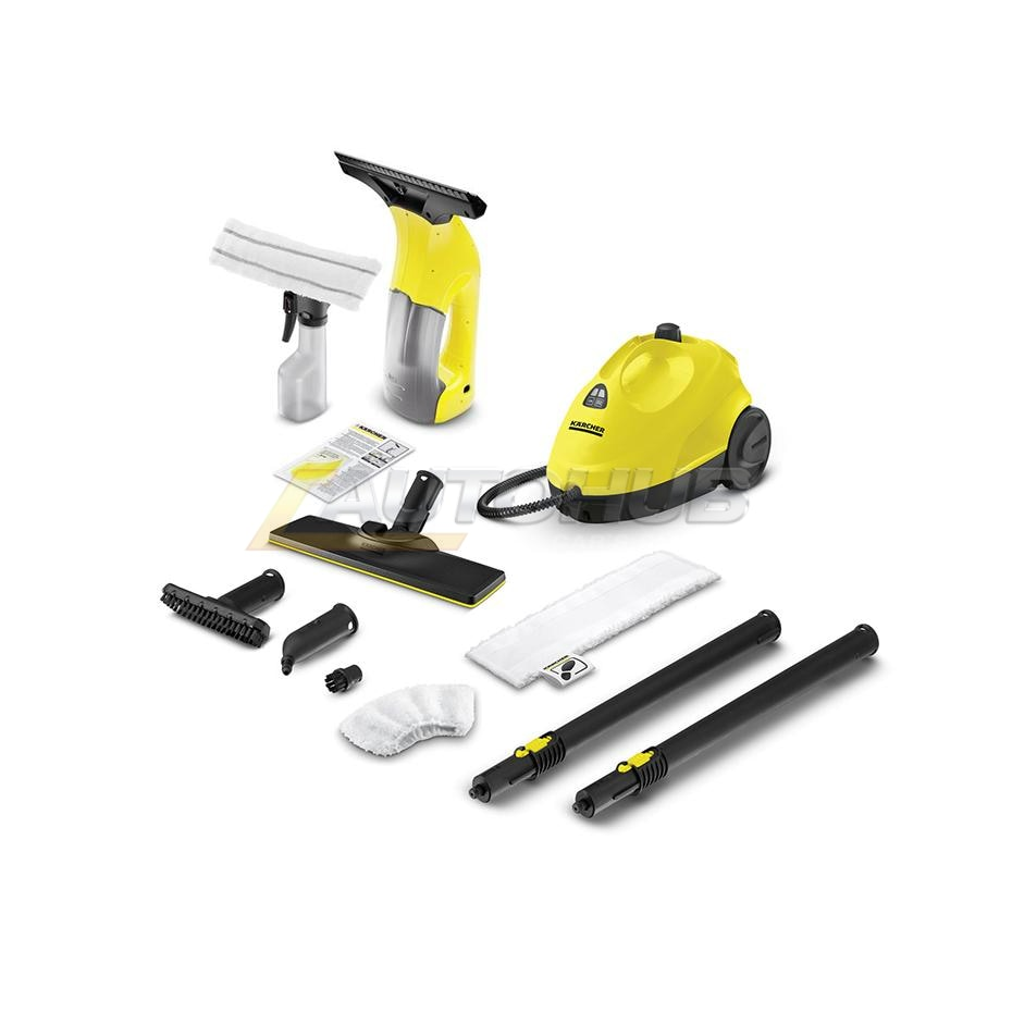 Karcher SC2 + WV1 (Steamer & Glass Vacuum)