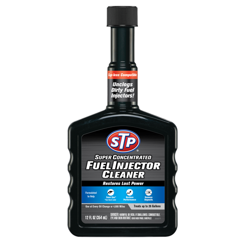 STP Fuel Injector Cleaner Black
