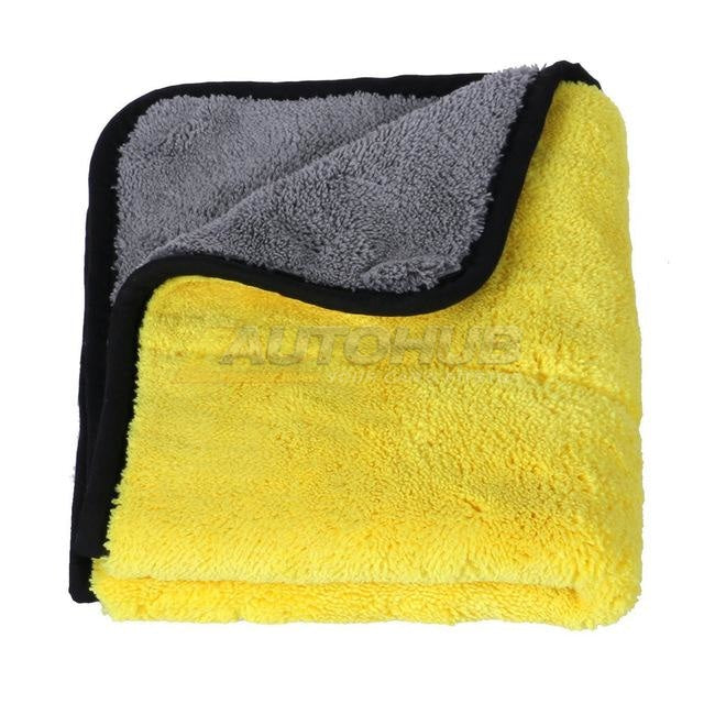Auto Junkies Yellow Microfiber Plush (60x40cm)
