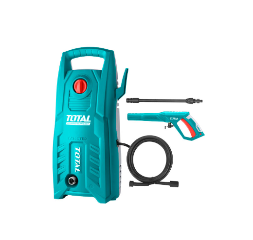 TOTAL High Pressure Washer - 1400w 130bar