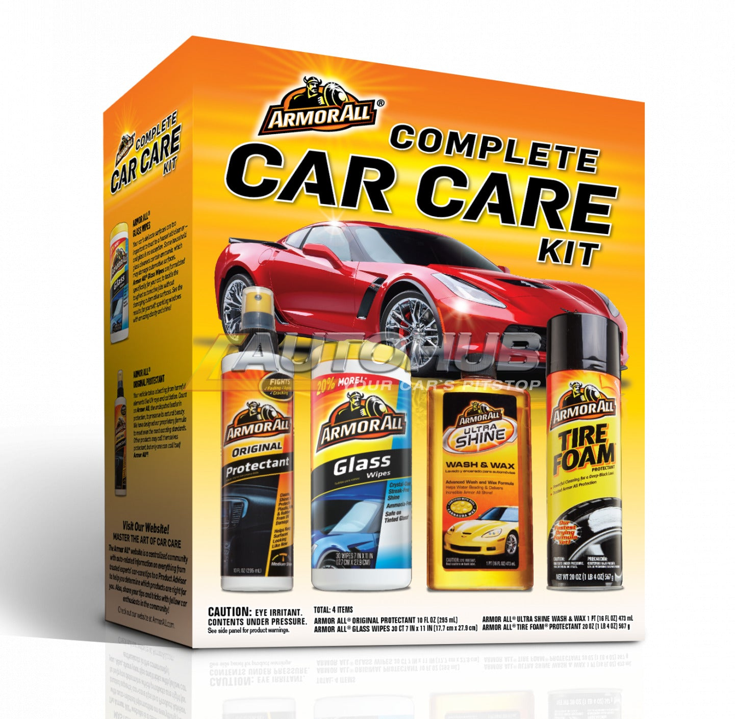 Armorall 4Pcs Complete Car Care Kit