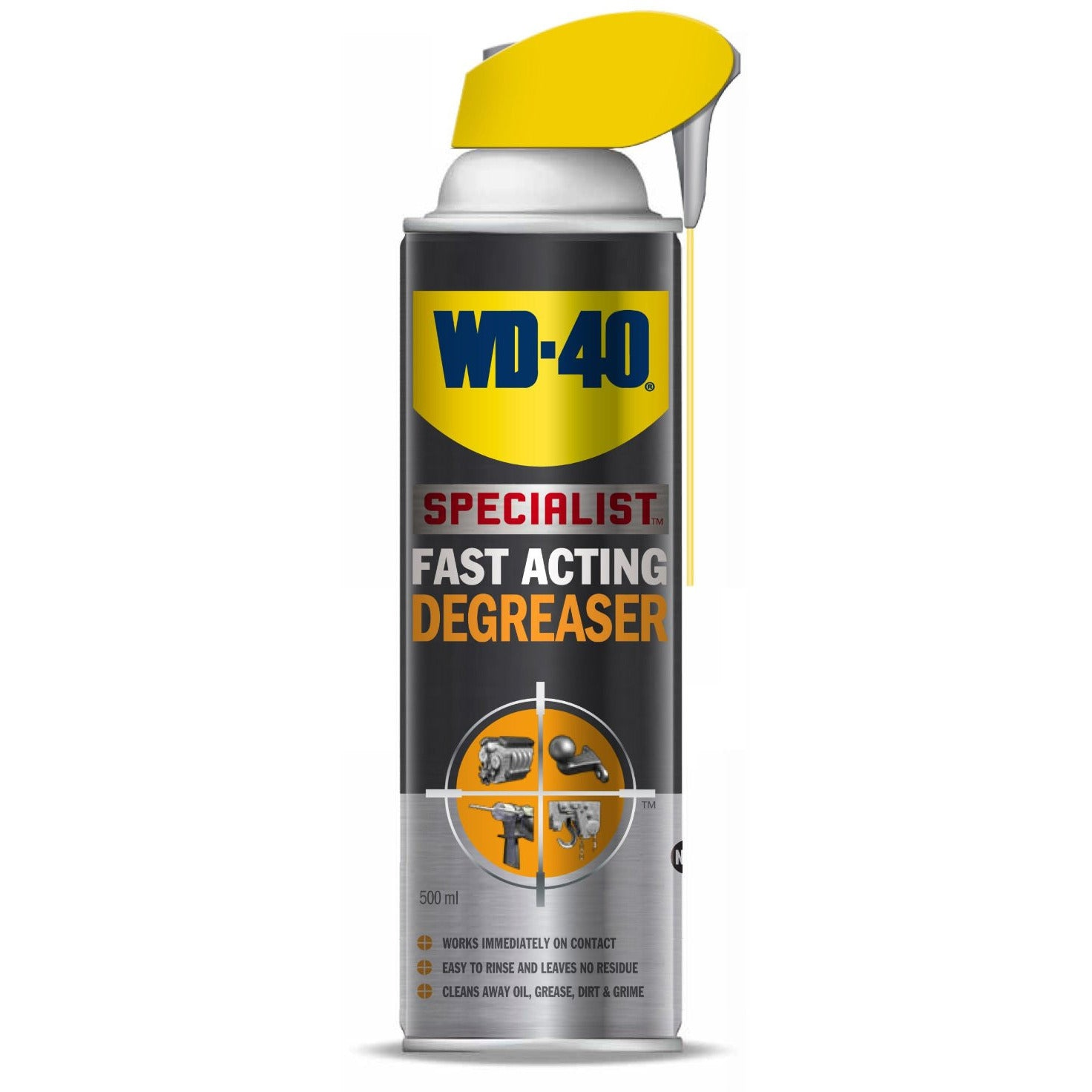 WD-40 ENGINE DEGREASER (500ML)