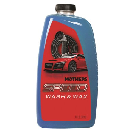 Mothers Speed Foaming Wash & Wax 48oz,