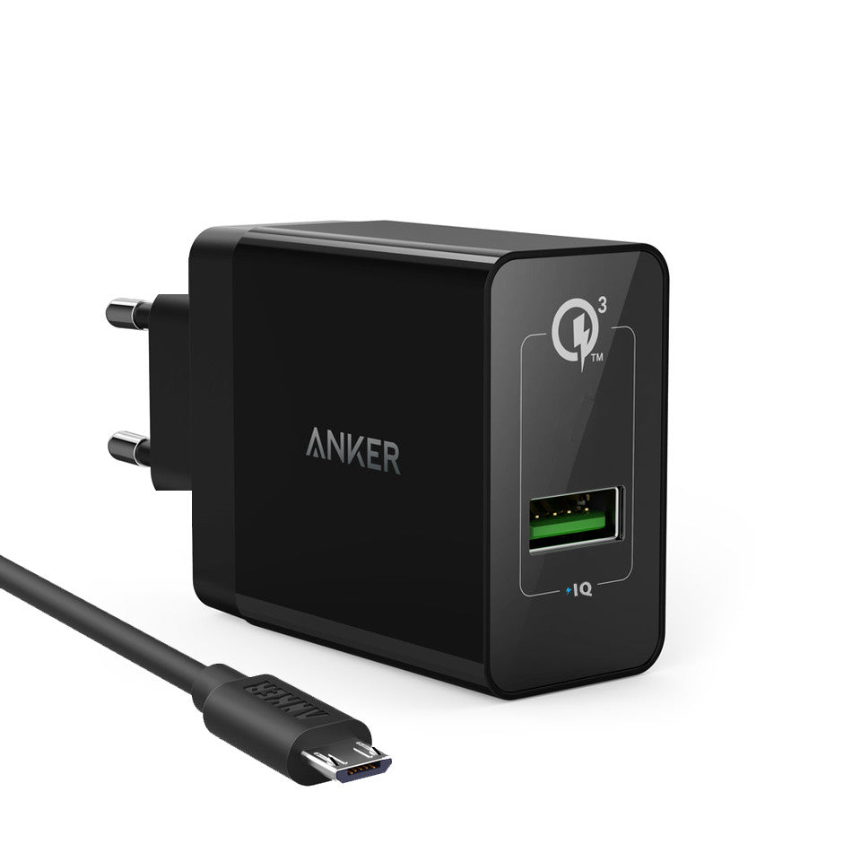 Anker Powerport + 1 & Micro Cable QC 3.0