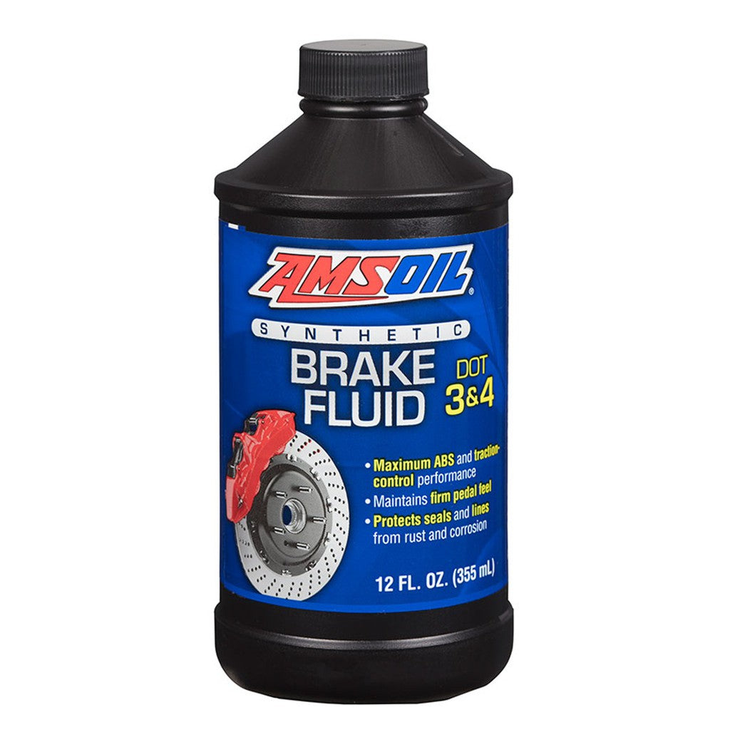 AMSOIL DOT 3 and 4 Brake Fluid 355ml