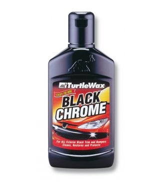 Turtle Black Chrome