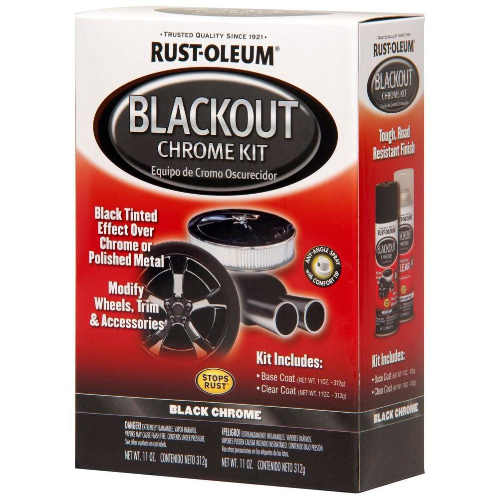 Rustoleum Blackout Chrome Kit