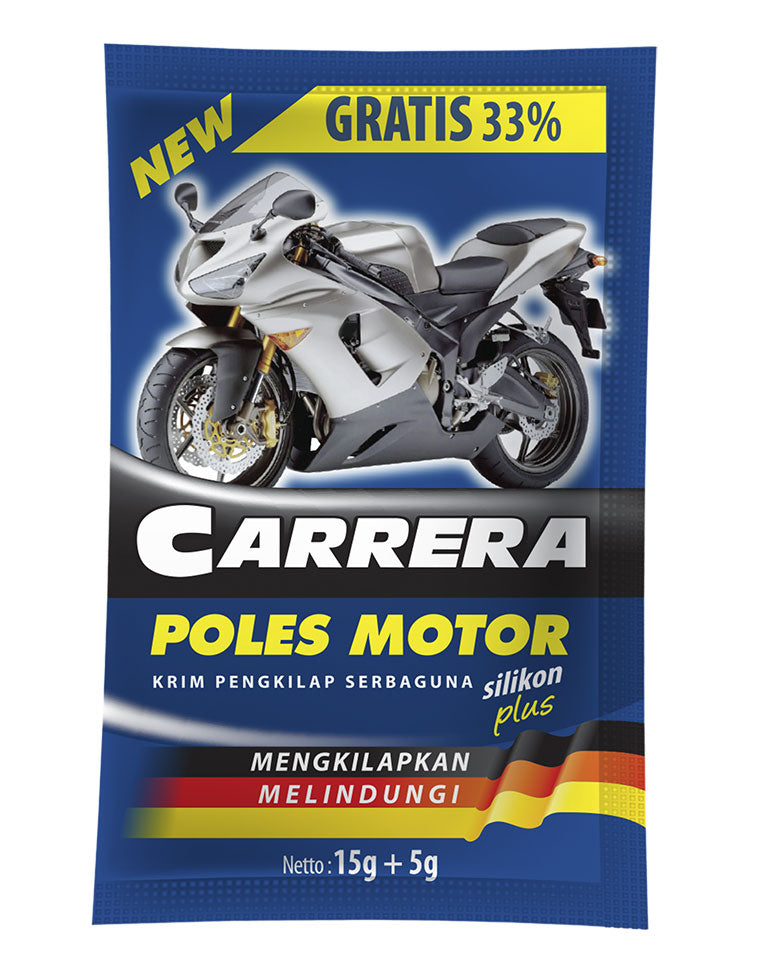 CARRERA Motorcycle Polish 20g 6 Pcs