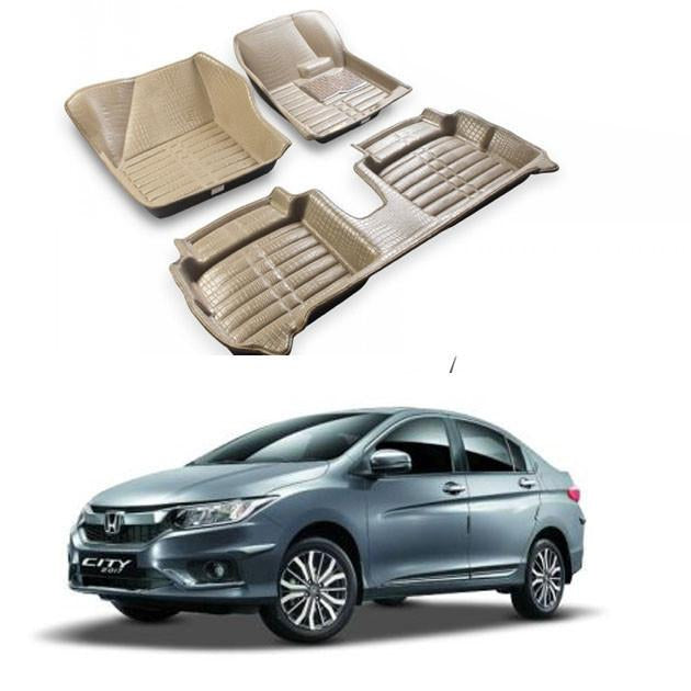5D Floor Mats- Honda City (2010-2017)