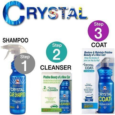 Bullsone Firstclass Body Crystal / Glass Coat Kit - 3 Steps