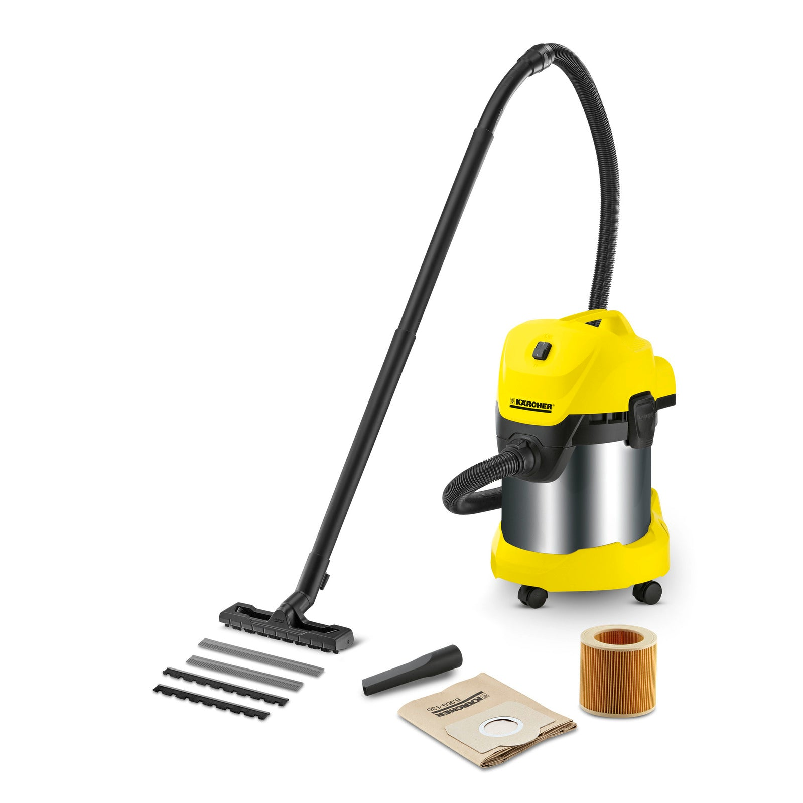 Karcher WD 3 Premium (Wet & Dry Vacuum Cleaner)