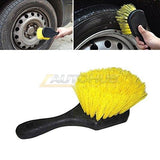 Tire Cleaning Brush Short Handle - Autohub Pakistan
