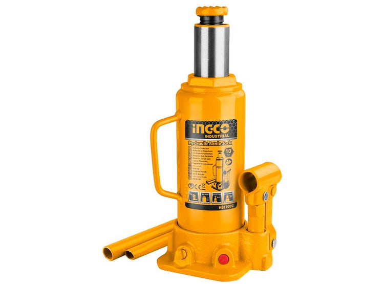 INGCO Hydraulic bottle jack 10 Ton
