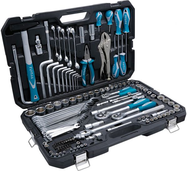 Total 142 Pcs Combination Tool Set
