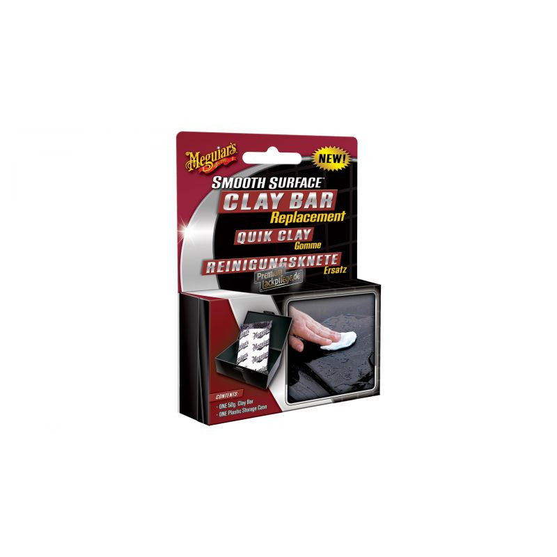 MEGUIAR'S INDIVIDUAL CLAY BAR W/CASE
