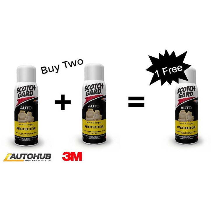Bundle offer 3M™ Scotchguard Auto Fabric & Carpet Protector