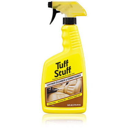 TUFF STUFF LEATHER CLEANER & CONDITIONER (16oz./473ml)