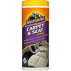 Armorall Carpet & Seat Wipes 20CT - Autohub Pakistan