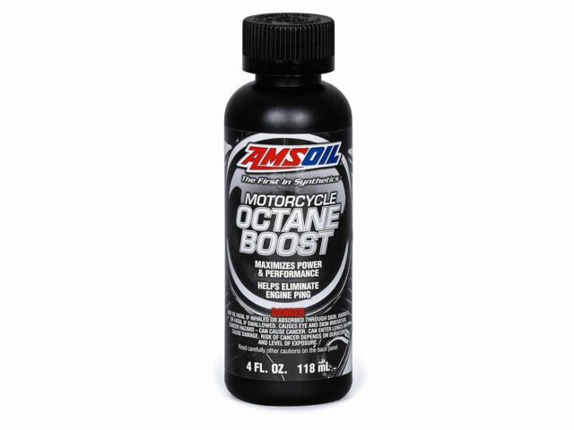 AMSOIL Motorcycle Octane Boost 118ml