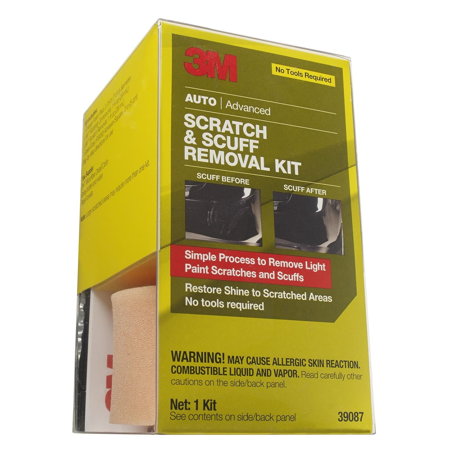 3M SCRATCH & SCUFF REMOVAL KIT