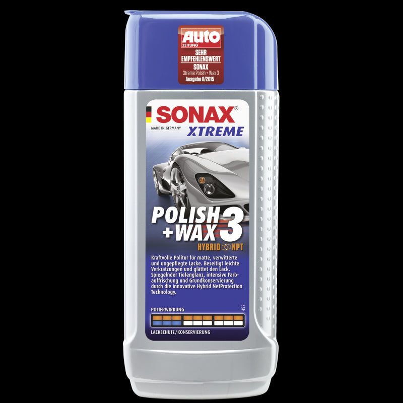 SONAX XTREME Polish & Wax 3 (500ML)