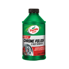 TURTLE WAX CHROME POLISH & RUST REMOVER (12 oz) - Autohub Pakistan