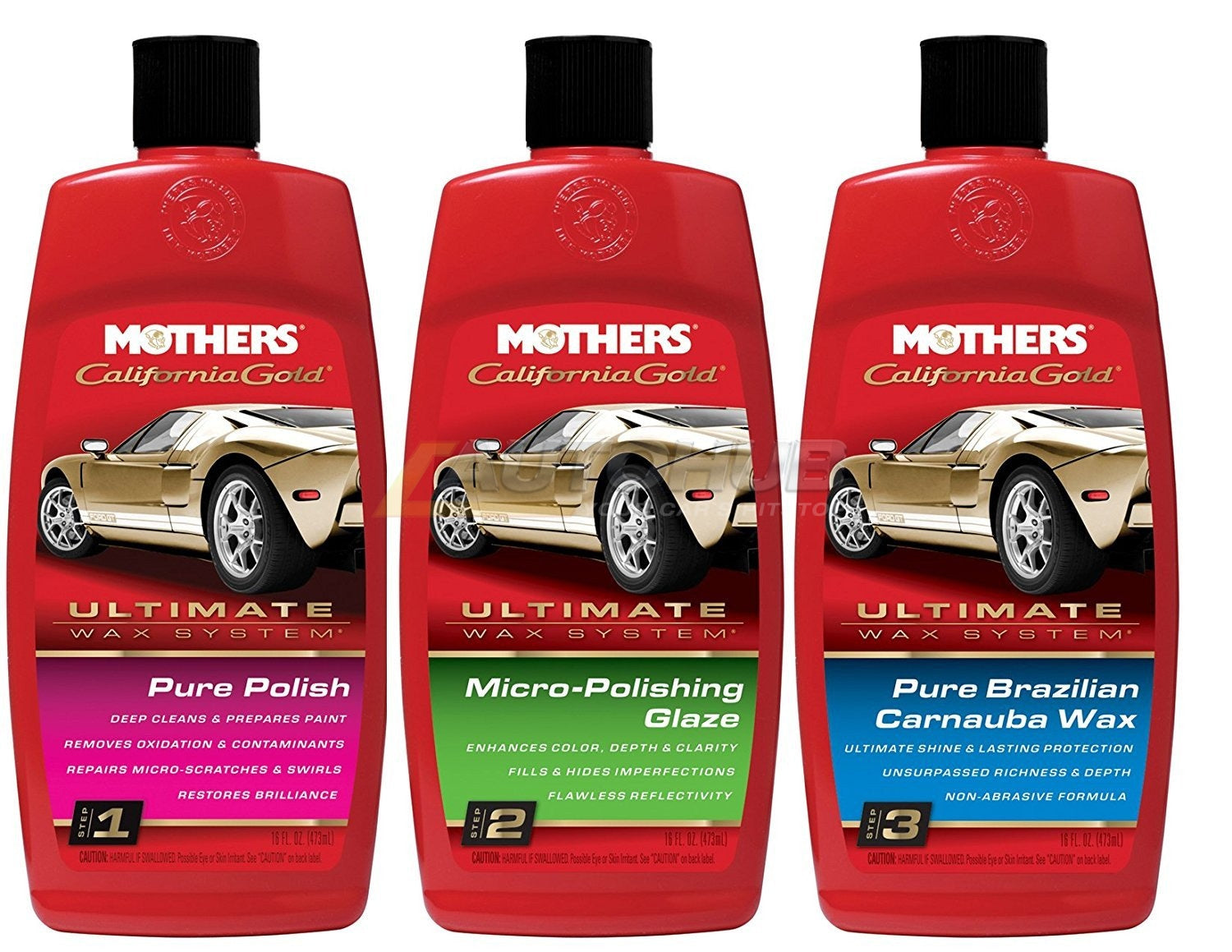 Mothers Ultimate Wax System (w/Liquid Wax)