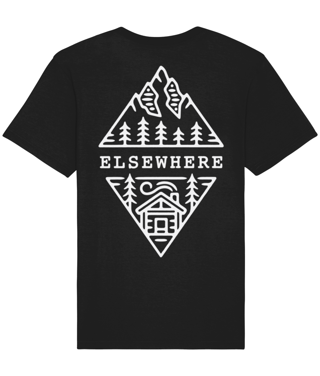 Black Cabin Tee - Elsewhere Clothing Co.