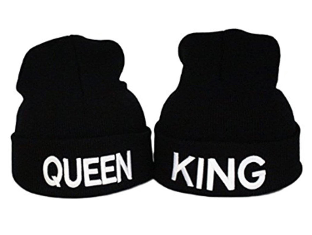 Embroidered KING & QUEEN ( set (2) )