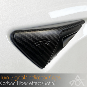 Carbon Fiber Turn Signal (indicator) Caps
