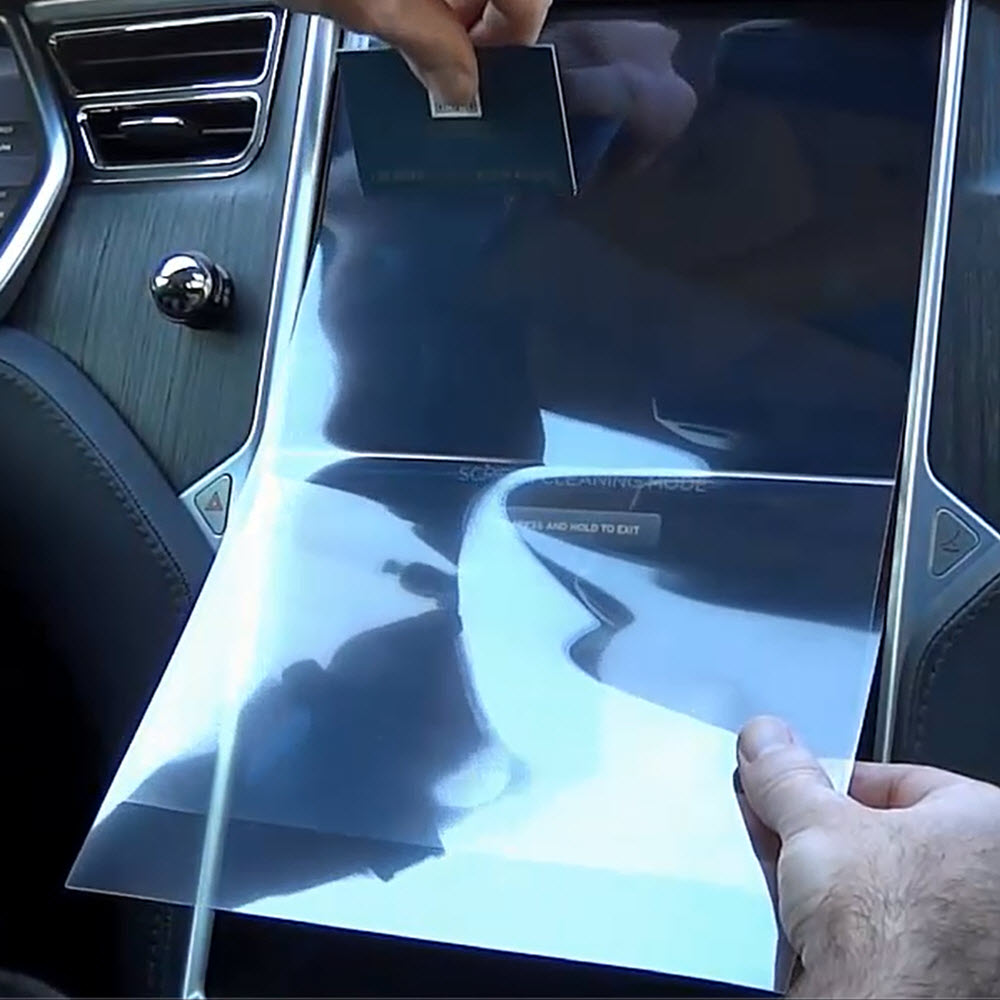 Flexible Screen Protectors for Model S & X