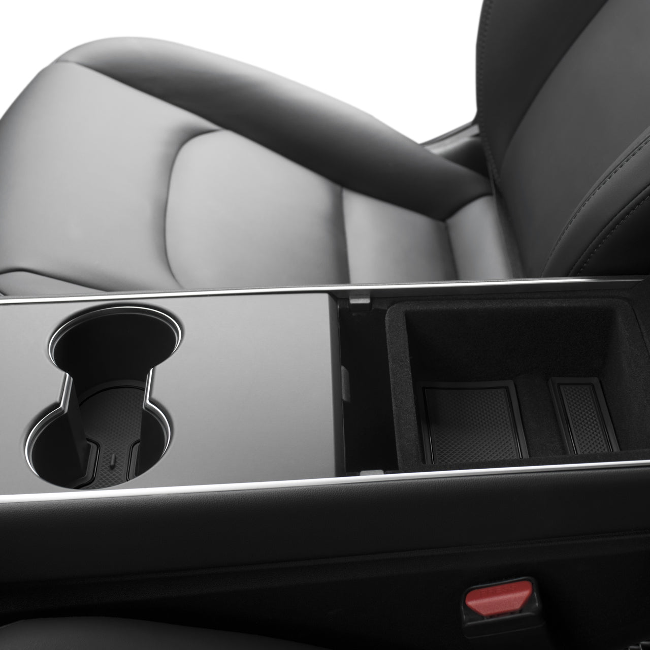 Center Console & Cup Holder Rubber Liners for Model 3 & Y