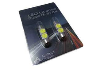 LED License Plate Bulb Kit for Model S (pre August, 2014 only)