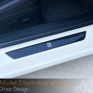 Model 3 Door Sill Covers
