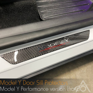 Model Y Door Sill Covers