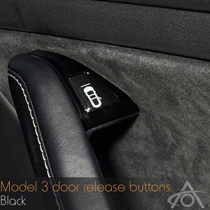 Model 3 Door Release Buttons (set of 4)