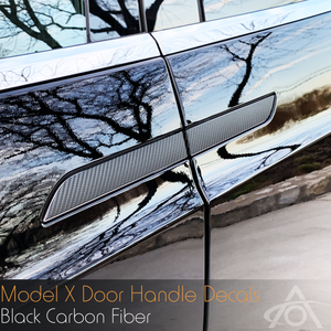 Model X Vinyl Door Handle Trims (4 pack)