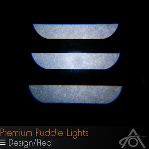 Ultra-Bright LED Premium Puddle Lights (pair)