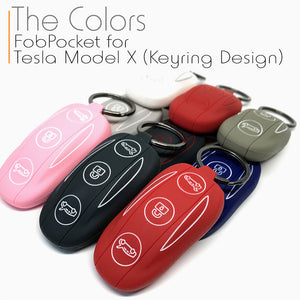 Silicone FobPockets for Model X (Keyring)