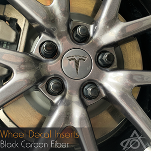 Vinyl Wheel Decal Inserts (All Models)