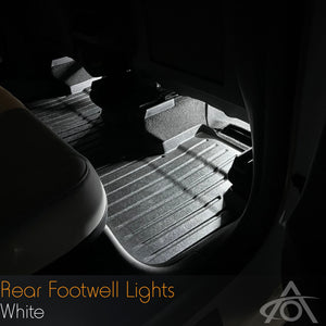Premium Rear Footwell Lights for Model 3/Y