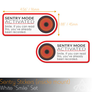 Sentry Window Decal (pair)
