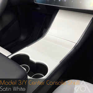 Center Console Shell for Model 3 & Y