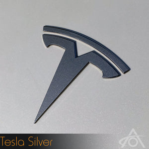 Model S Logo Decal Set (Front & Back)
