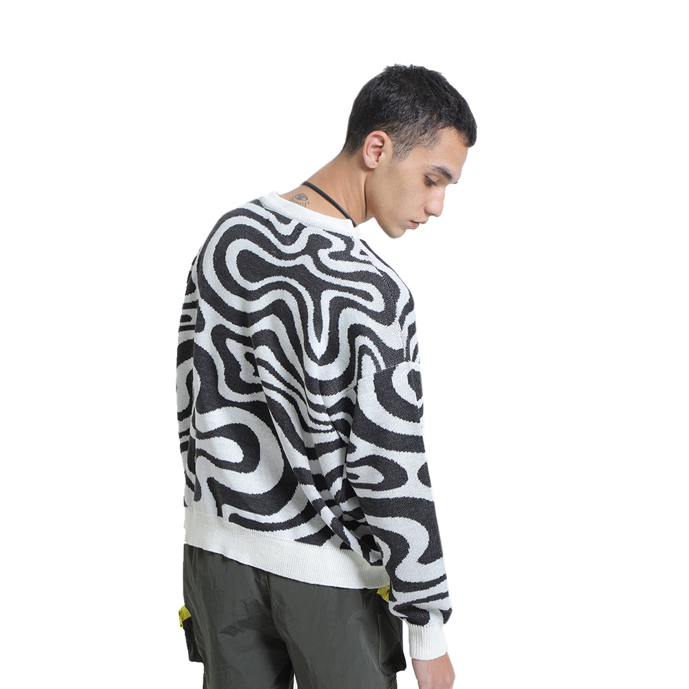 Load image into Gallery viewer, Gravity Sweater Black