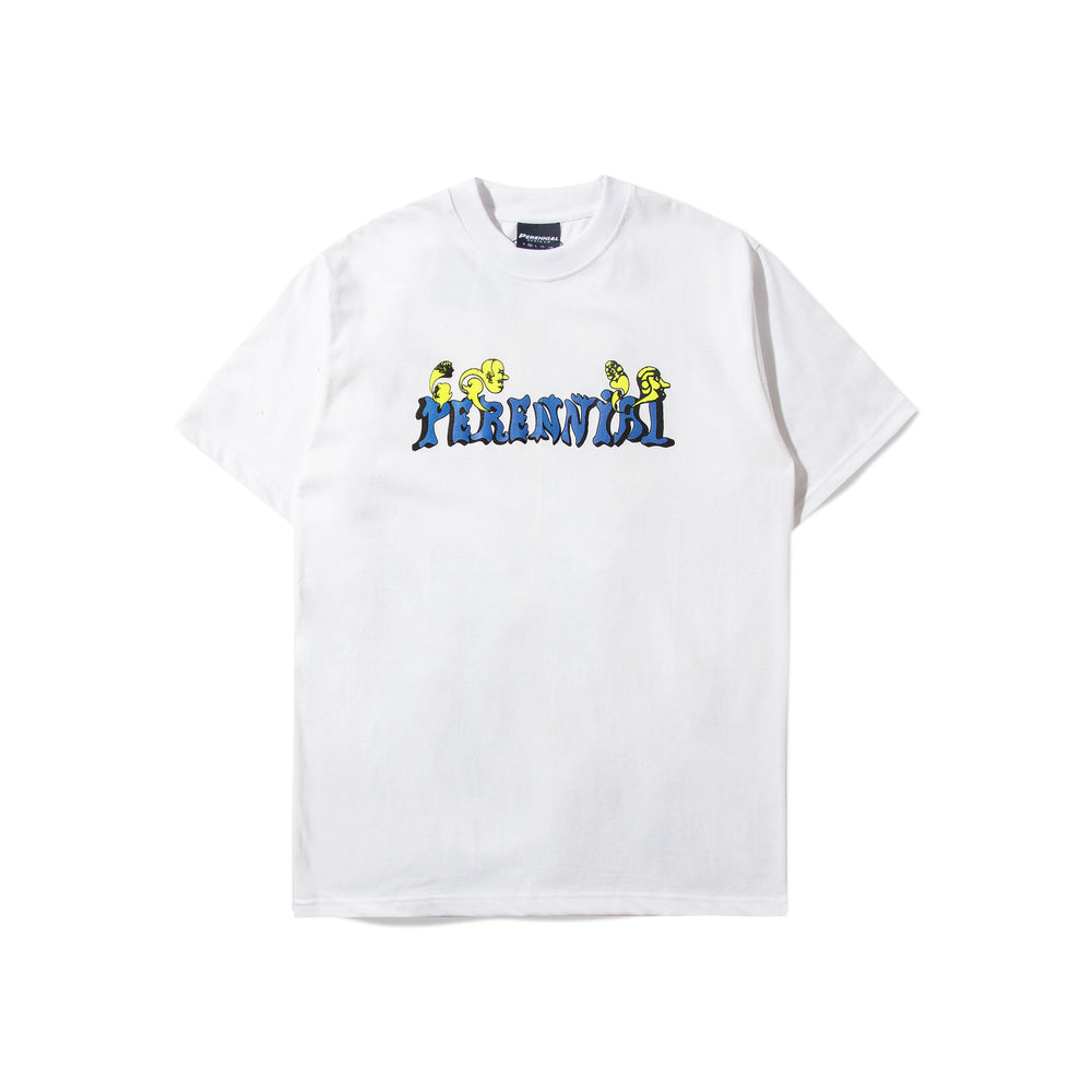Peacefull Tee White