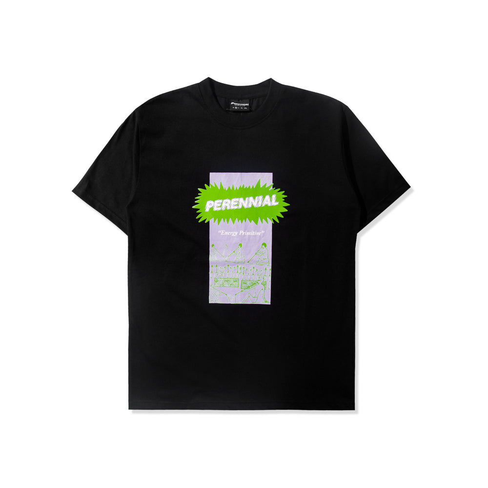 Energy Primitive Tee Black