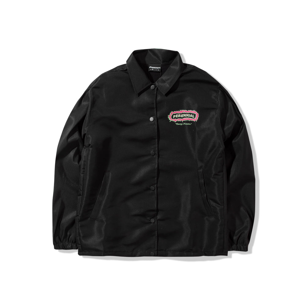 Energy Primitive Coach Jacket Black