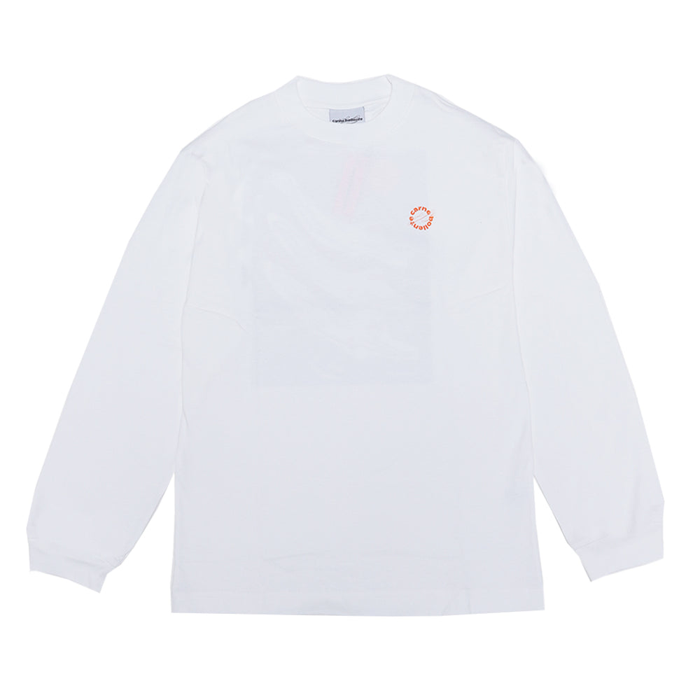 Load image into Gallery viewer, Titanic Tits Longsleeve Tee White